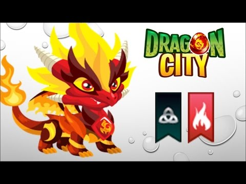 Dragon City - Getting Pure Flame Dragon 100% (No Hack)