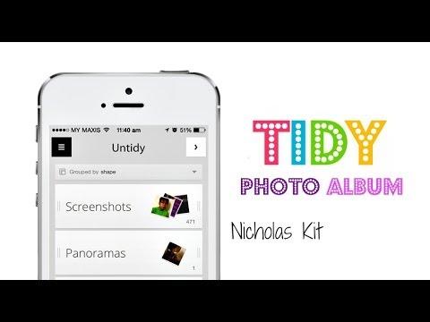 Tidy - Let's Tidy Our iOS Photo Album