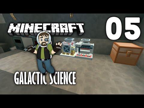Galactic Science HQM - Modded Minecraft - E05 - Minechem Lab