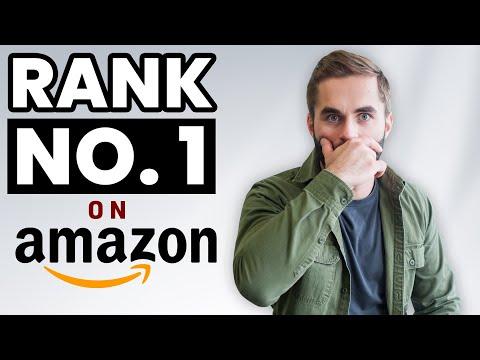 Amazon SEO - How to Rank Amazon Keywords (Amazon Ranking Fast!)