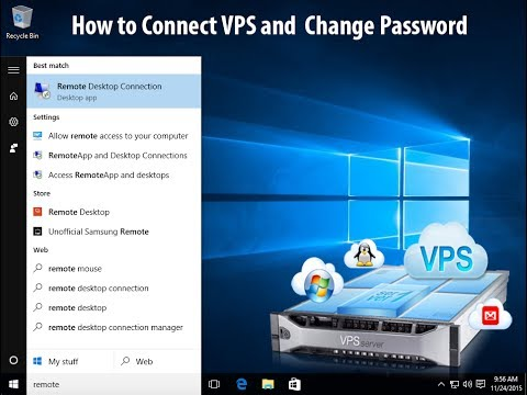 How to Connect VPS and Change Password with RDP | VPS Connect with RDP | connect VPS✔