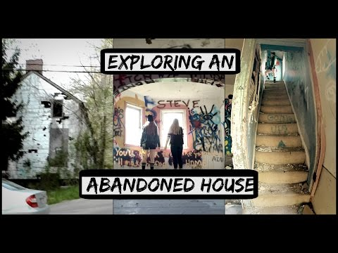 EXPLORING AN ABANDONED HOUSE.