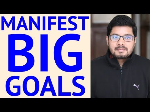 How to Use LAW OF ATTRACTION For BIG GOALS - Powerful Technique | Motivational Video 2018