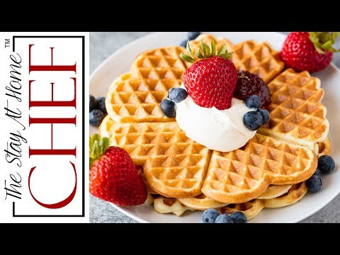 Easy Norwegian Waffles