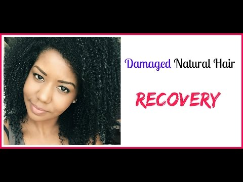 My 5 Tips On Recovering From Damaged Natural Hair 💝 Curly Hair