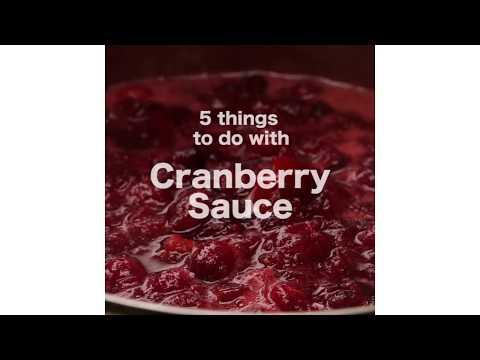 5 Recipes Using Cranberry Sauce