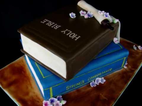 Bible / Scroll Cake