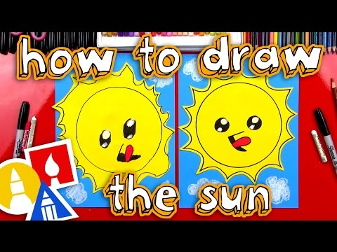 How To Draw The Sun