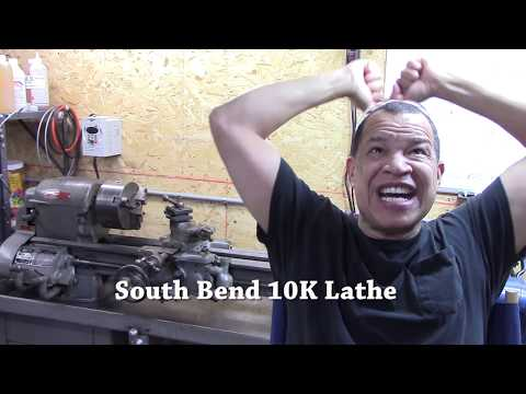 South Bend 10K Lathe up and running with VFD