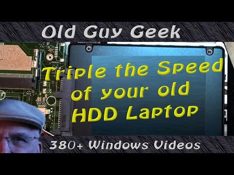Clone Your Laptop Hard Drive to SSD and Triple Your Speed