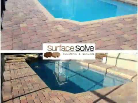 Tile cleaning grout sealing paver sealing Tampa FL