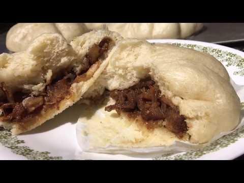 Siopao | Steamed Buns Filled with Pork Humba