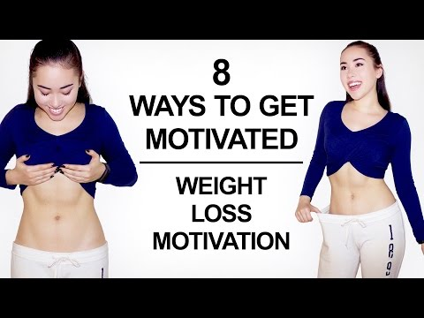 💪 8 Ways to Motivate Yourself to Work Out | Work Out / Weight Loss Motivation ⚡️