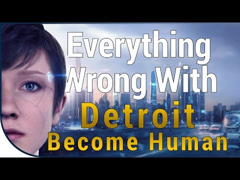 GAME SINS   Everything Wrong With Detroit: Become Human