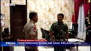 Jenderal Polri Idham Aziz Temui Panglim TNI Marsekal Hadi Tjahjanto - iNews Sore 01/11