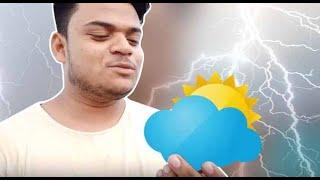 Baarish Ki Masti || Delhi Rain || Heavy Rain 😱