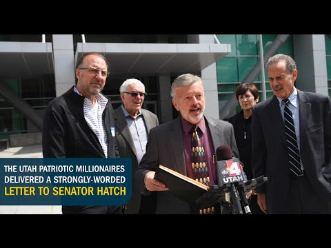 Patriotic Millionaires of Utah Call On Senator Hatch To End The Carried Interest Tax Loophole