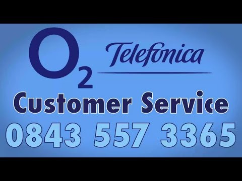 O2 Customer Service Phone Number