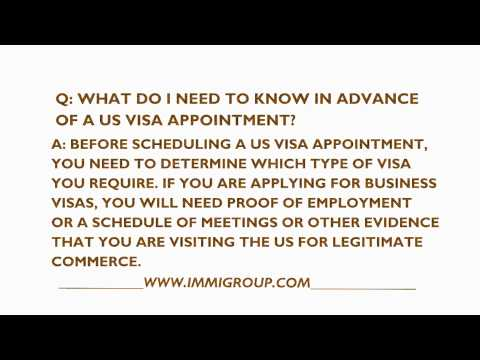 What Do I Need To Know Before My US Visa Appointment?