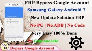 How To Bypass FRP Google Acccount Samsung Galaxy J7 Prime, J5 prime
