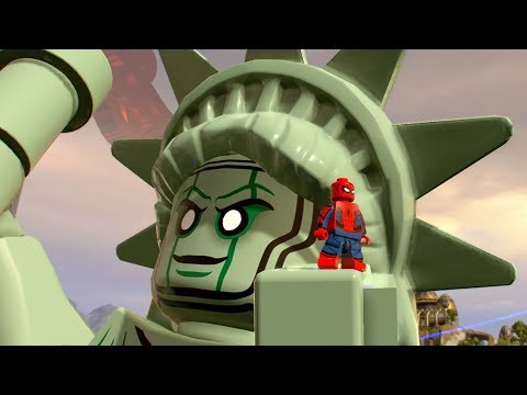 LEGO Marvel Super Heroes 2 - Liberty Island - Open World Free Roam Gameplay (PC HD) [1080p60FPS]