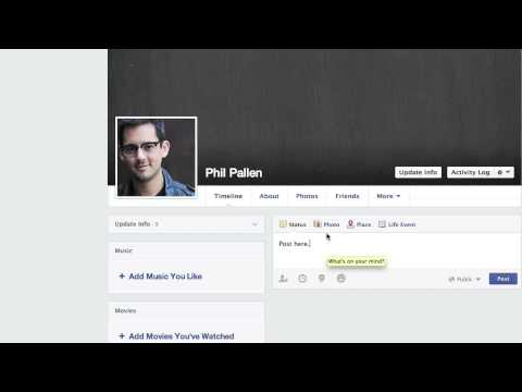 How to Update Your Facebook Timeline : Social Media
