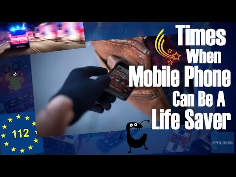 Times When Mobile Phone Can Be A Life Saver!
