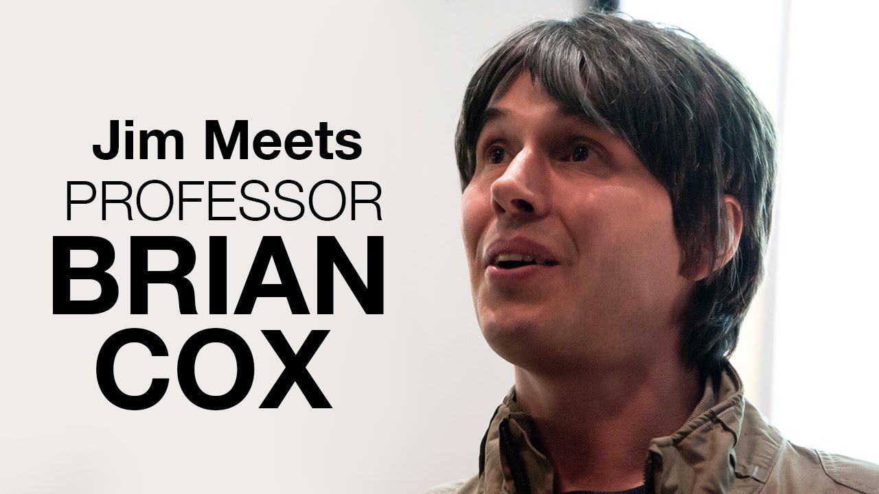 Jim meets: Professor Brian Cox | University of Surrey