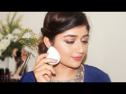 How to apply Foundation using a Sponge | corallista
