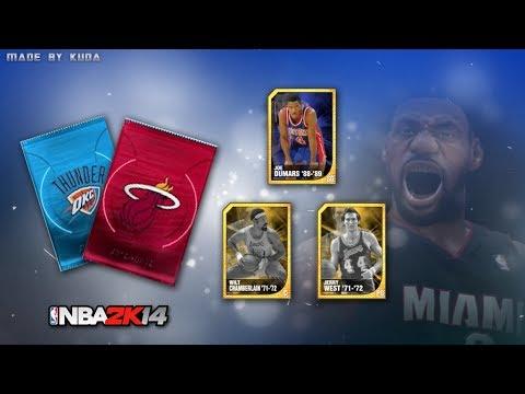NBA 2K14 Next Gen PS4 My Team - BEST MYTEAM PACK OPENING IN 2K HISTORY Part 1 | 300K VC | GOLD PACKS