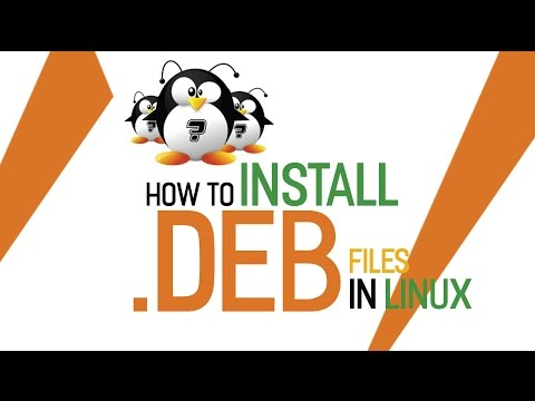 How to install .deb files from command line in linux ubuntu