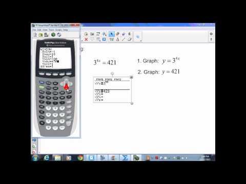 sec8 5 Alg II Part 1 Solving Exponential Equations