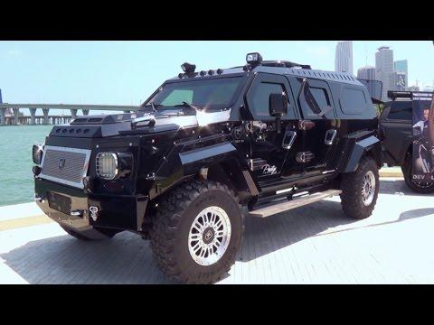KNIGHT XV The World's Most Luxurious Armored Vehicle $629,000. Civilian version of AAVI's Gurkha F5
