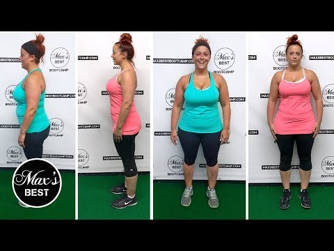 LAUREN'S 6 WEEK WEIGHT LOSS BEFORE & AFTER RESULTS | Lost 13 LBS. In 6 Weeks At Max's Best Bootcamp
