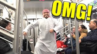 CRAZY ARAB ON THE TRAIN DOES THE UNTHINKABLE OMG!! WHAT WAS HE THINKING!? (CLICKBAIT TITLE)