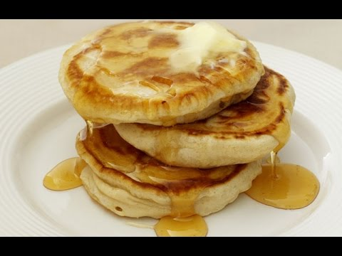 How To Make Thick Pancakes - 4 Ingredients