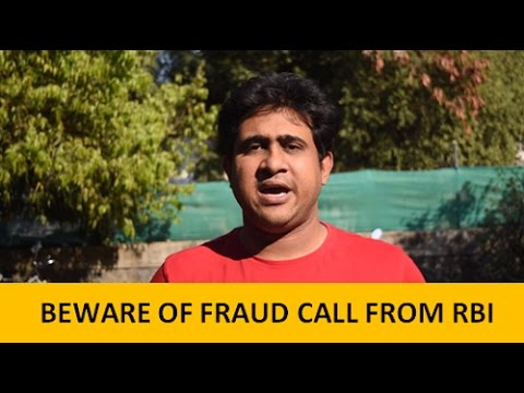 5 minutes of Fraud Call from RBI to Close the bank Account