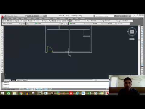 Draw home plan in AUTOCAD in HINDI part -2 by Parag Pal