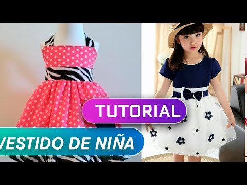 TUTORIAL OF HOW TO MAKE A GIRL DRESS