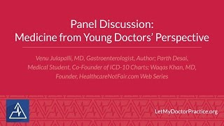 Panel Discussion: Medicine from Your Doctors