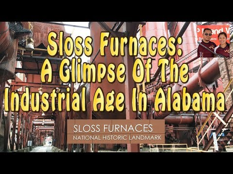 Sloss Furnace: A Glimpse Of The Industrial Age In Alabama