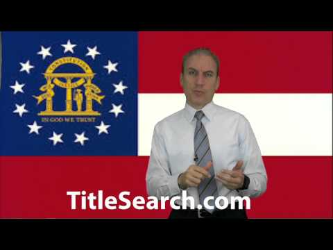 How do you do a title search on a house in Georgia? | AFX
