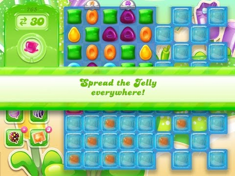 Candy Crush Jelly Saga Level 765 (3 star, No boosters)