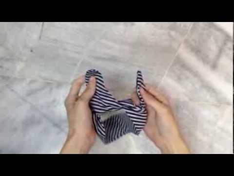 How to make a knotted headband by BebeBundo
