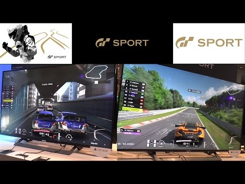 🎮  PAX East 2017 Gran Turismo Sport - Game  beta PS4 Playstation 4 60p Off screen Hands on gameplay