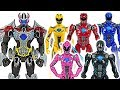 Power Rangers Movie 5 Rangers And Build A Megazord Save The Police DuDuPopTOY