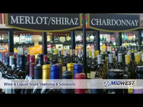 Liquor Store and Wine Shop Shelving | Midwest Retail Services