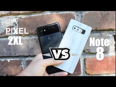 10 Reasons The Pixel 2 XL IS Better Than The Galaxy Note 8!