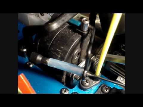 How to adjust the brakes of your nitro car