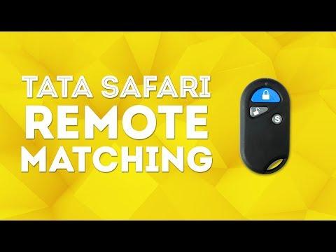 Tata Safari Remote Matching